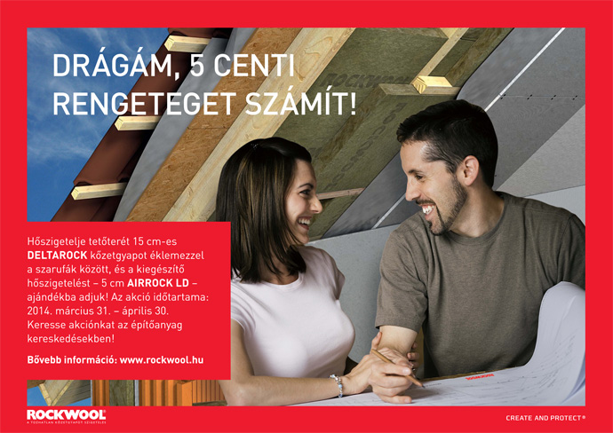Construma akció - Drágám, 5 centi rengeteget számít!