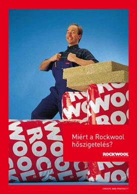 Miért a Rockwool hőszigetelés? A prospektus megtekintéséhez kattintson ide.