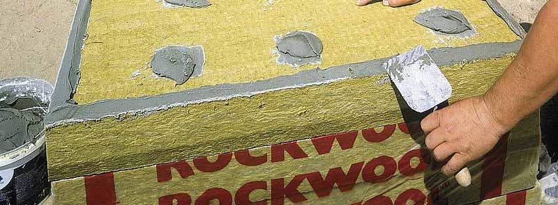 Rockwool Frontrock Max E vakolható homlokzati hőszigetelő lemez