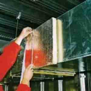 Rockwool Conlit Steel Protect Board Alu kőzetgyapot lemez 3,5 cm