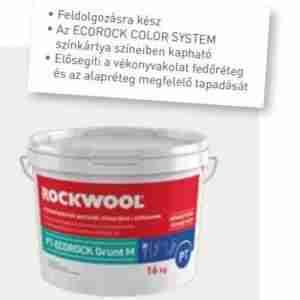 Rockwool PT-Ecorock Grunt M színezett vakolatalapozó