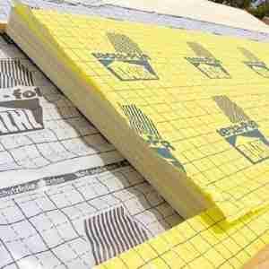 Bachl Tecta-PUR dB Plus-MF hőszigetelő lemez 1,15 cm vastag